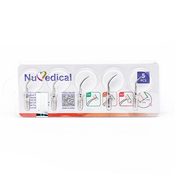 NuMedical Scaler Tips G2, 5pcs/pack, $5.19 per piece, SCALING, 995822