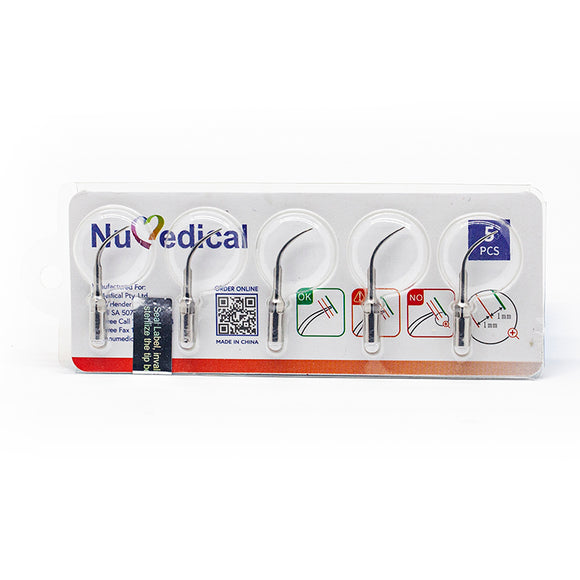 NuMedical Scaler Tips G4, 5pcs/pack, $5.19 per piece, SCALING, 995817