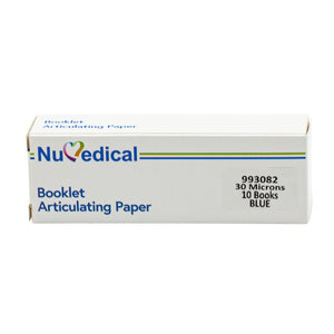 Articulating Paper, Booklet (30 Microns with 10 Booklets , Blue), 993082