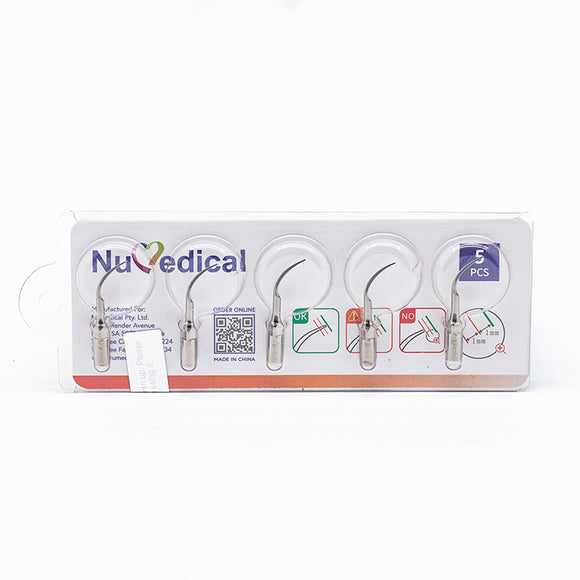 NuMedical Scaler Tips P1, 5pcs/pack, $5.19 per piece, PERIODONTAL, 995819
