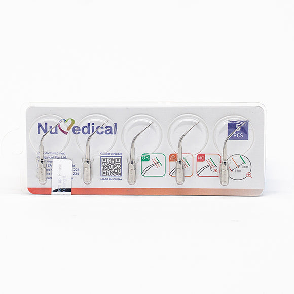 NuMedical Scaler Tips P3, 5pcs/pack, $11.95 per piece, PERIODONTAL, 995814