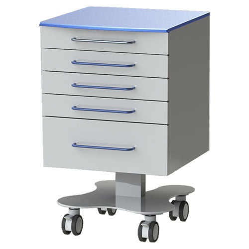 Stainless Steel Mobile Cabinet, 993501