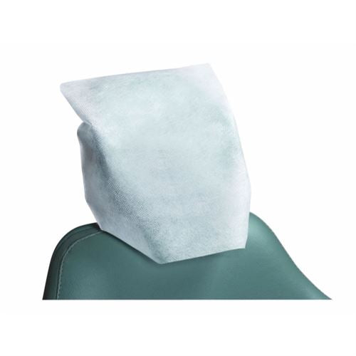 Headrest Covers 25cm x 25cm - Tissue + Poly, 992459-992464