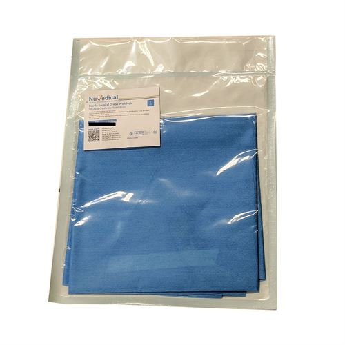 Sterile Surgical Drape with Hole, 990710, 990711