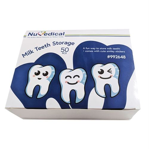 Milk Teeth Storage, 50pcs/pack, 992648