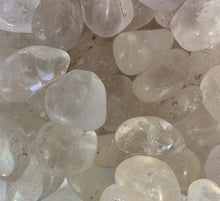 Load image into Gallery viewer, Clear Quartz Tumbled Master Healing Crystal