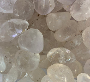 Clear Quartz Tumbled Master Healing Crystal