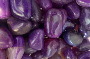 Purple Agate Tumbled