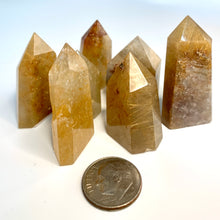 Load image into Gallery viewer, Citrine Mini Crystal Points