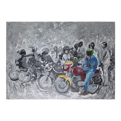 Paintings By African Artist Fabrice