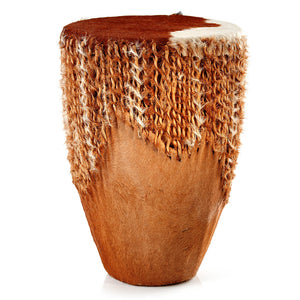 African Cowhide Drum - Large