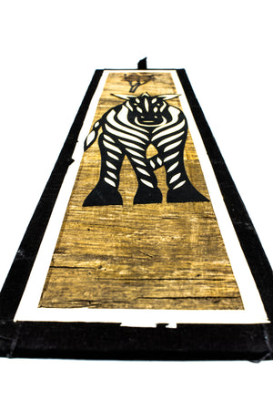 Zebra Wall Decoration