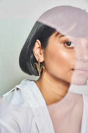 Open image in slideshow, Maize Earring