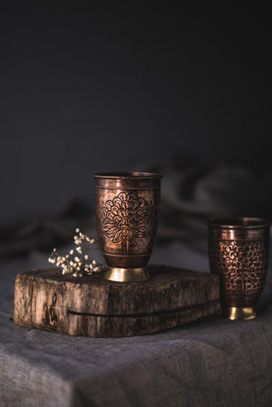 Copper Laligurans Glass