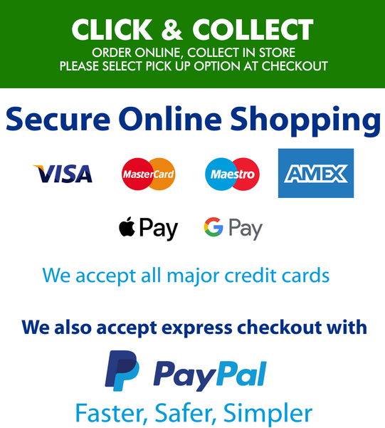 Click and collect also payment options