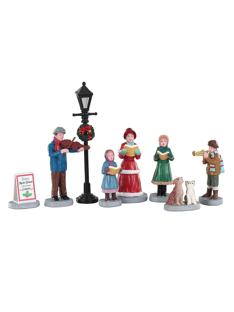 Baily's Music School Carolers, Set of 8