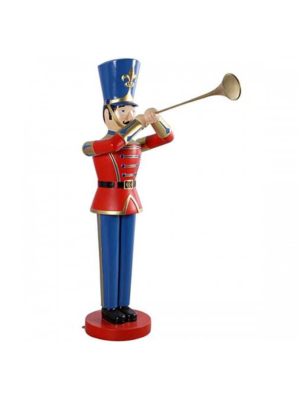 184cm Toy Soldier with Trumpet
