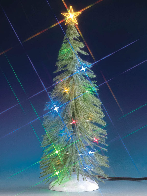Spruce Tree With 20 Multicolour LED Lights, B/O (4.5V)