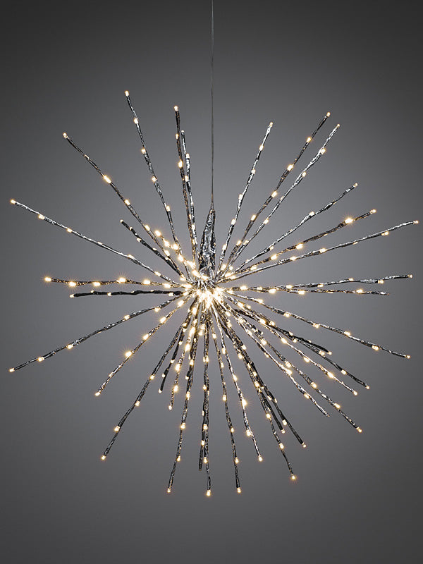 84cm LED Ball of Twigs - Silver
