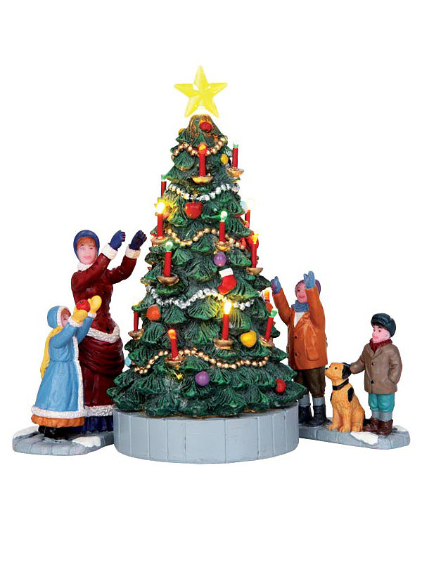 The Village Tree, Set of 3, B/O (4.5V)