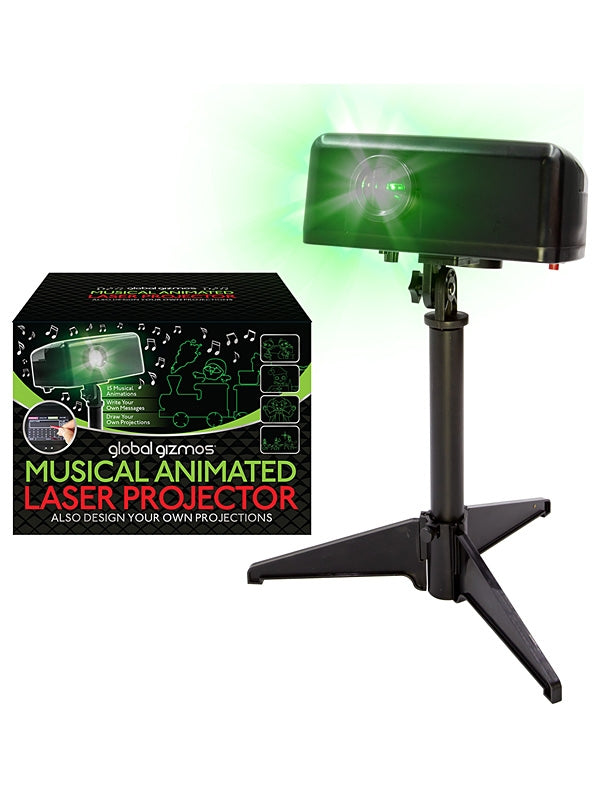 Musical Animated Laser Light with LCD Touch Panel