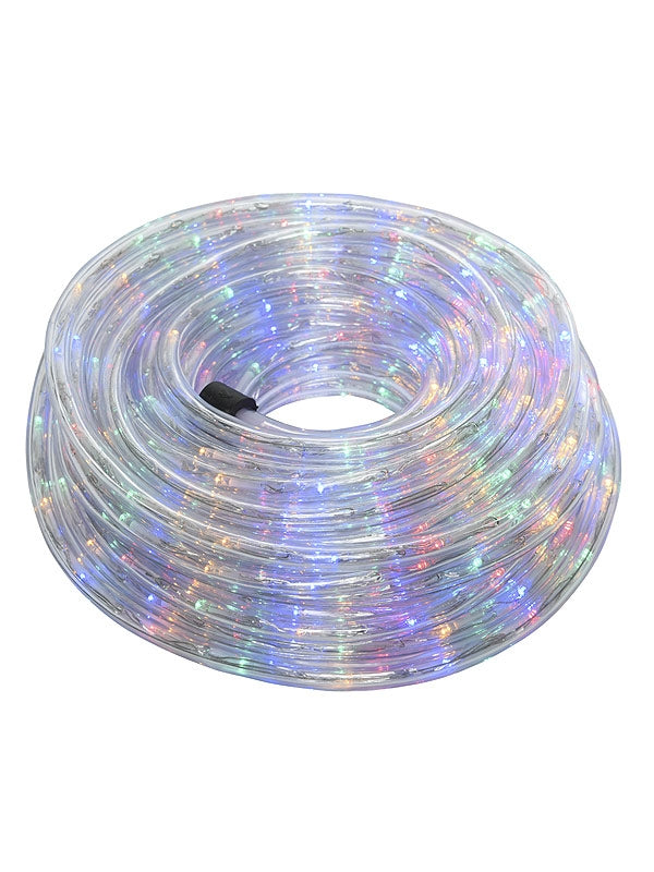 18m LED Twinkle Ropelight - Multi-coloured