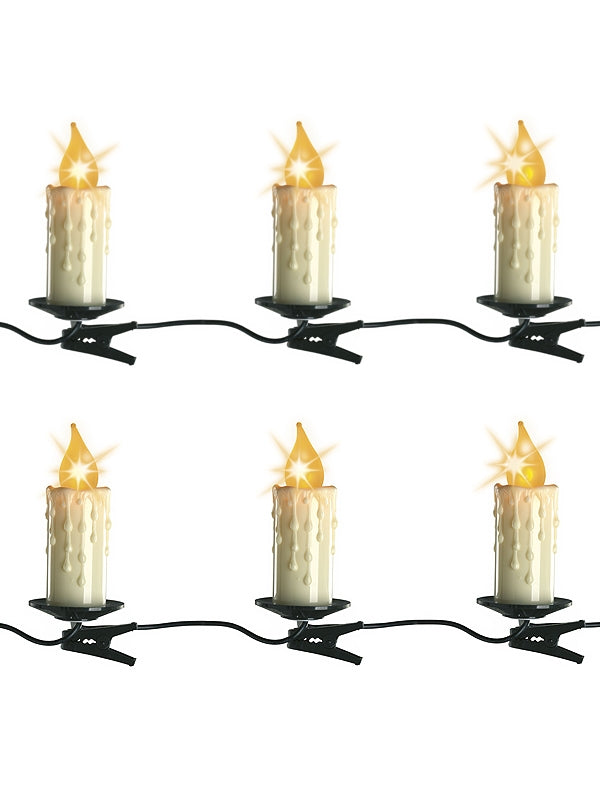 30 Jumbo Candle Lights With Clip