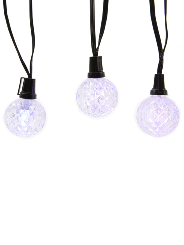 12 Colour Changing Christmas Balls String Light