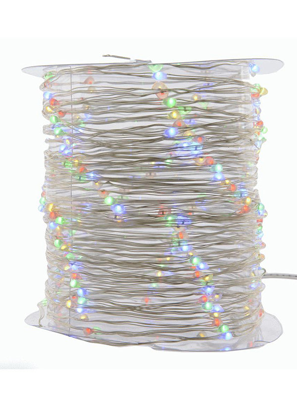 180 Micro LED Twinkle Christmas String Lights - Multi-Colour