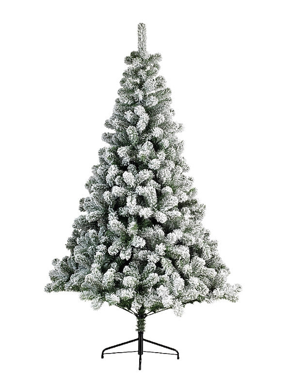 2.1m (7ft) Snowy Imperial Pine Christmas Tree