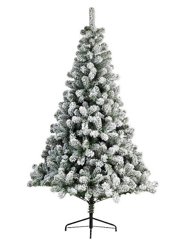 2.4m (8ft) Snowy Imperial Pine Christmas Tree