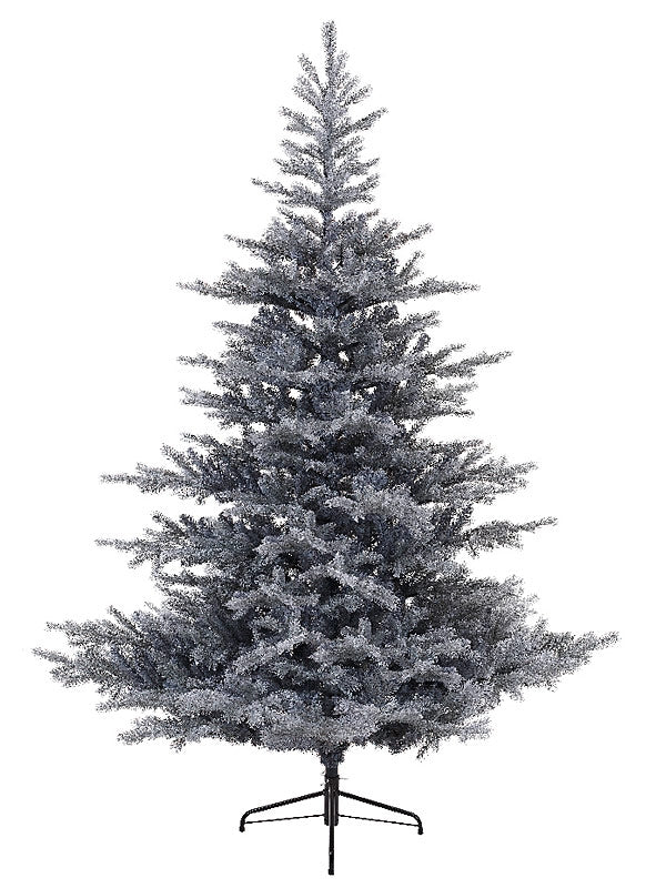 2.1m (7ft) Frosted Grandis Fir Christmas Tree