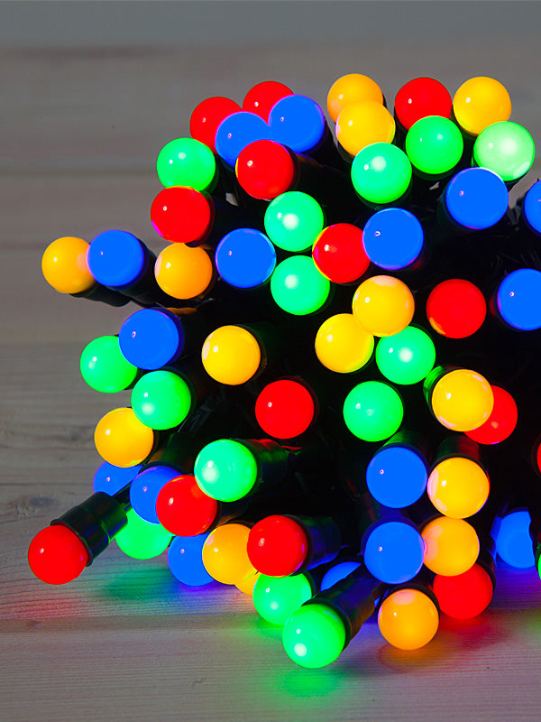 100 LED Battery Operated Berry Lights - Multi-colour