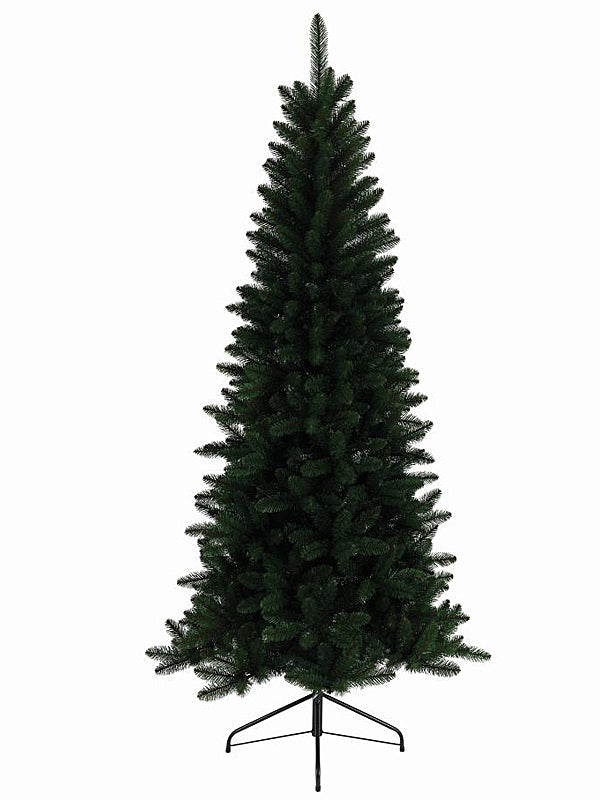 2.1M (7ft) Lodge Slim Pine Christmas Tree