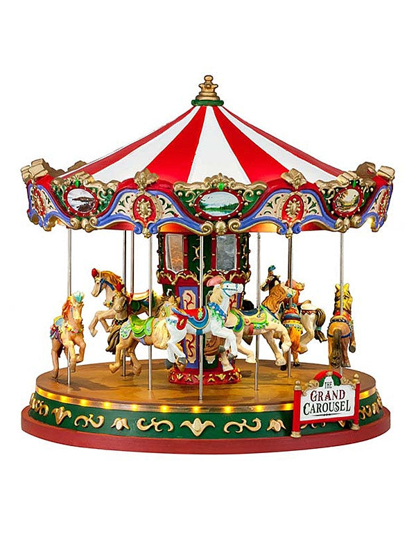 The Grand Carousel with 4.5V Adaptor