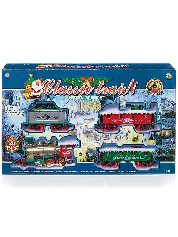Battery Operated Train with Headlight & Sound