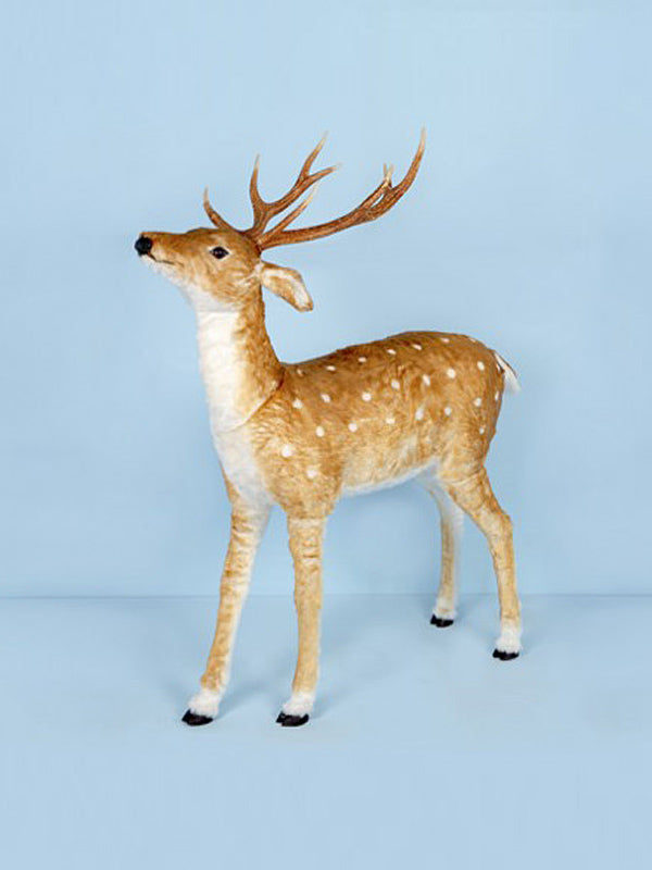 130cm Brown Deer with White Spots