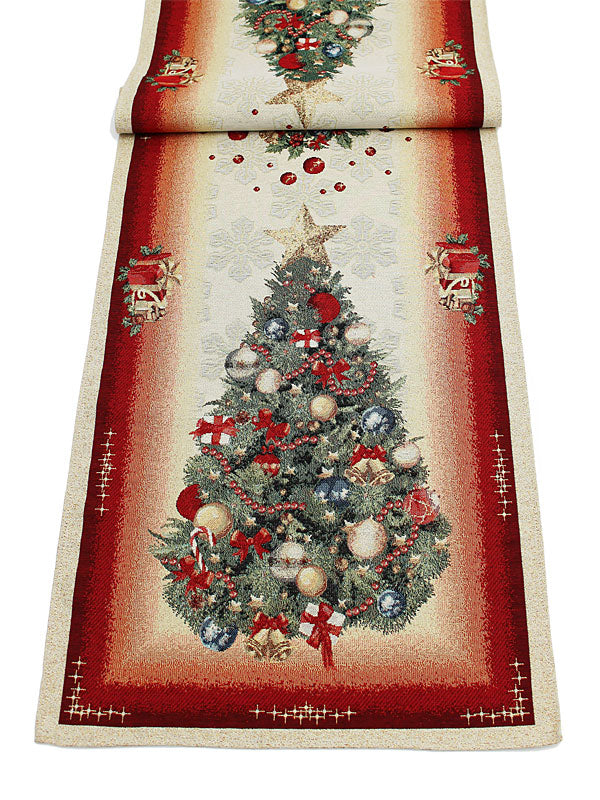 "18"" x 55"" 'Deck The Halls' Table Runner"