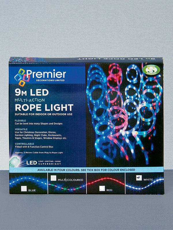 9M LED Multi-Action Rope Christmas Lights