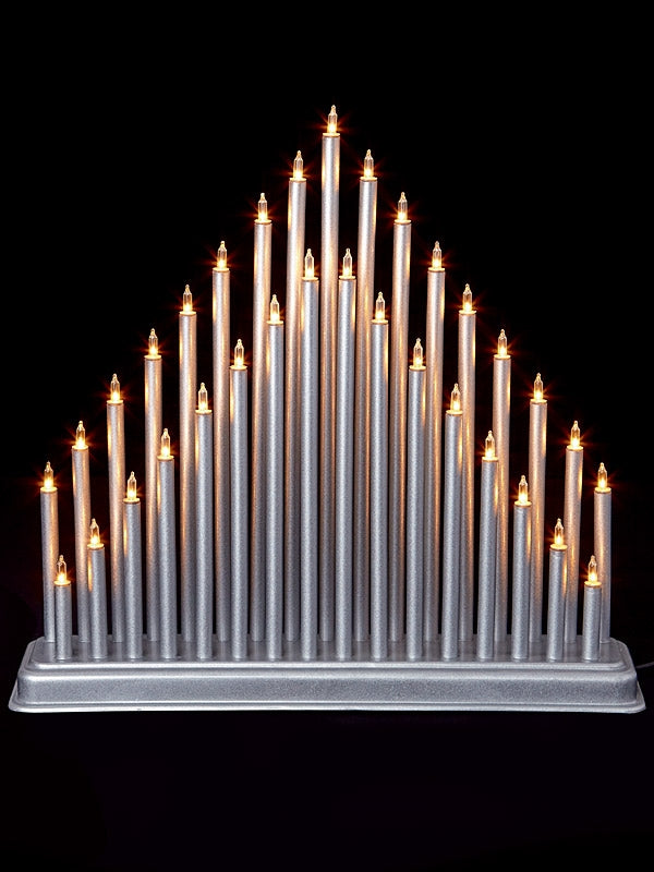 33 Bulb Tower Christmas Candle Bridge