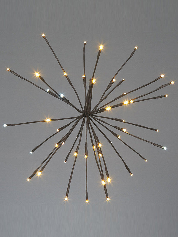 50cm Sparkle Ball Light - 90 Warm White LEDs