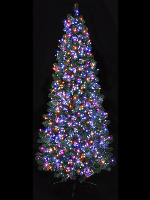 1500 Multi-Action Led Treebrights with Timer - Rainbow