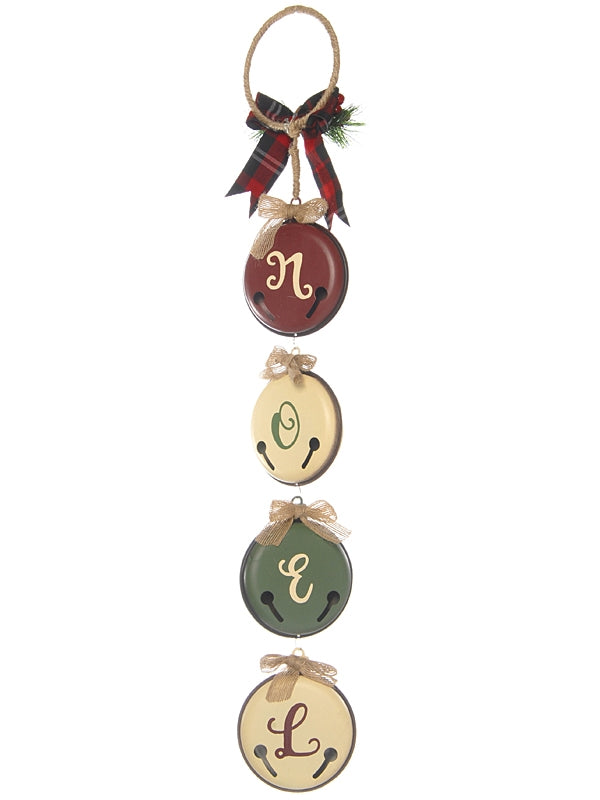 65cm Noel Hanging Bells Decoration