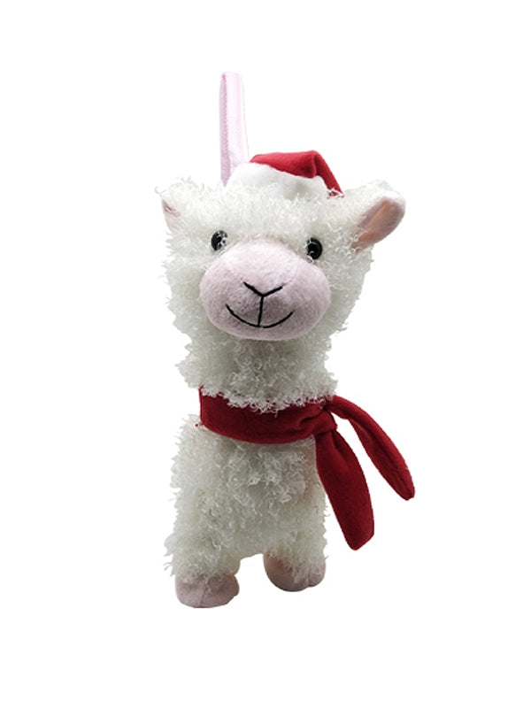 35cm Walking and Singing Alpaca