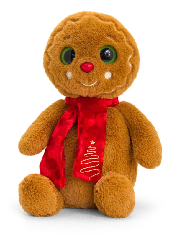 20cm Gingerbread Man with Scarf