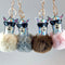Faux Fur - Alpaca Keychain - alpaca wool - alpaca products & gifts - handmade - fairtrade gifts - by Inkari