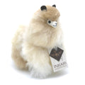 ❤ Alpaca Toy ❤ Stuffed Animal ❤ Sahara - alpaca wool - alpaca products & gifts - handmade - fairtrade gifts - by Inkari