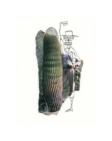 Cactus Dude Limited Edition Print