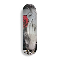 Stiegler X Broadhurst Kate Moss - English Rose Skateboard Deck