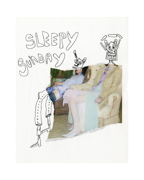 Sleepy Sunday Limited Edition Print
